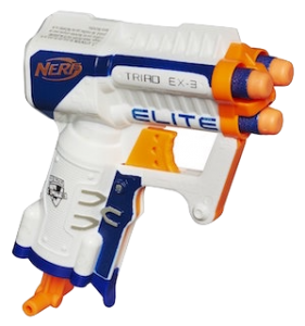 nerf triad ex3 review test